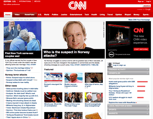 Using CNN.com as an example.
